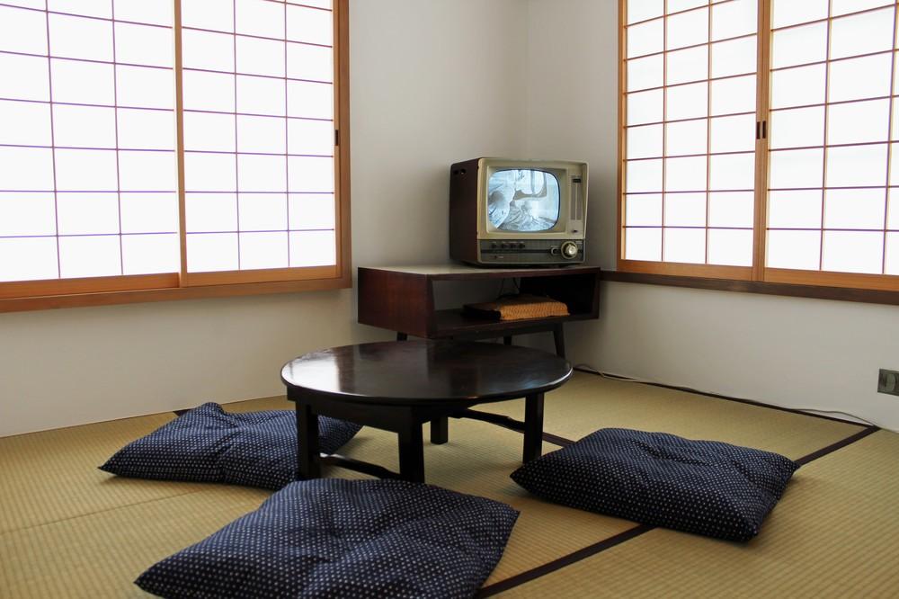 1962年の暮らしを再現した部屋