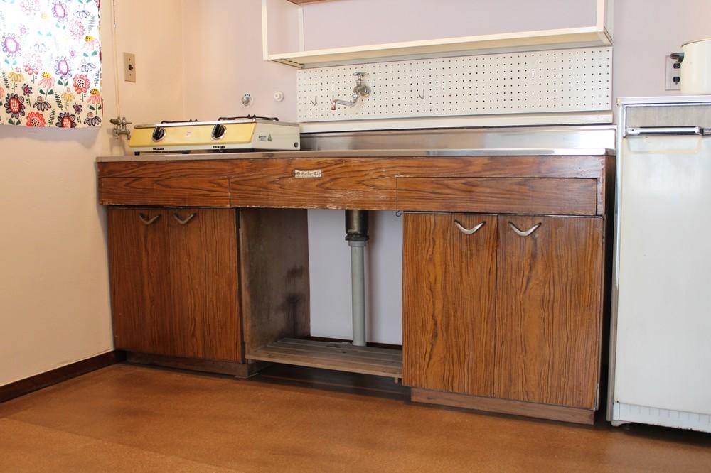 1962年当時のキッチン