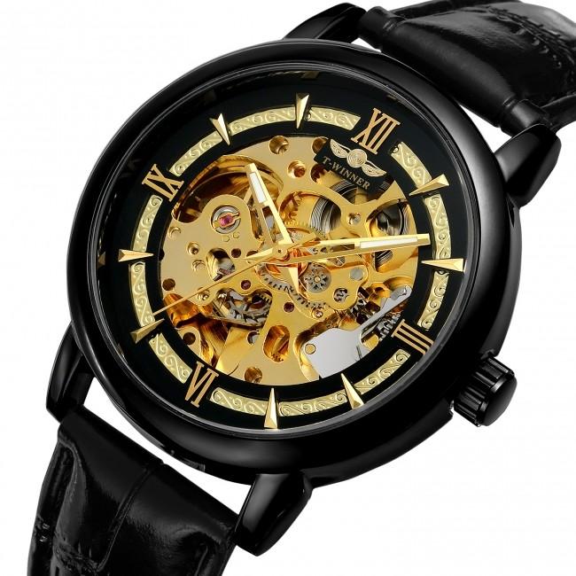 低価格で時代のニーズにこたえる 「プリンチペプリヴェ」自動巻きスケルトン時計