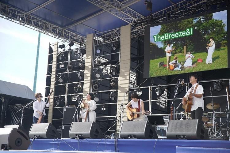 東京のうたの日の常連、The Breeze&I