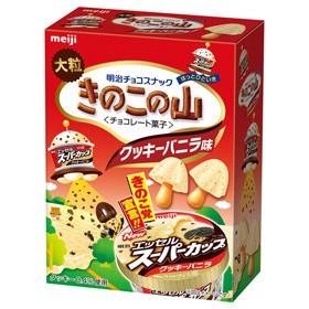 「きのこの山」で「スーパーカップクッキーバニラ」を再現