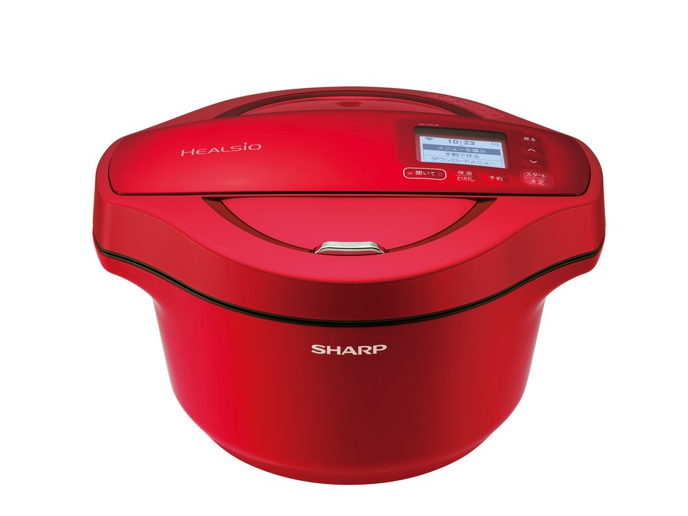 食材本来の旨み味わえる無水調理対応 シャープの自動調理鍋