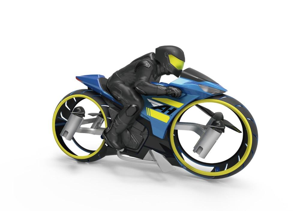 1台で地上と空中2つの操作が楽しめる バイク型フライトラジコン