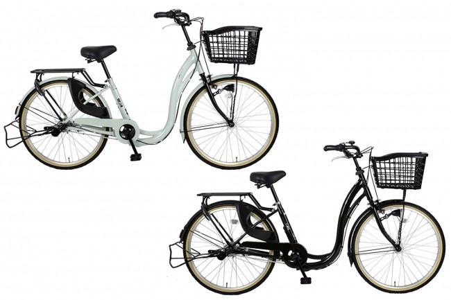 「いつもの買い物を楽にもっと楽しく」 買い物専用自転車4種