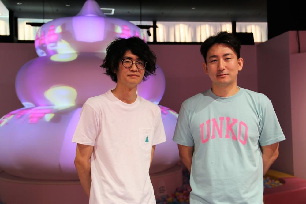 制作プロデューサー・香田遼平さん(左)、総合プロデューサー・小林将さん(右)