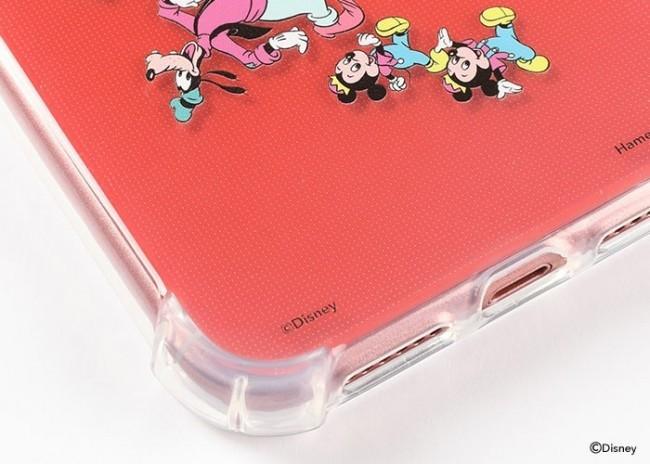 ディズニー人気キャラのiPhone XR 専用ソフトケース