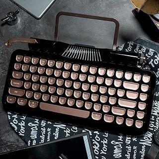 クラシックデザインのメカニカルキーボード「Rymek」 無線&有線接続対応