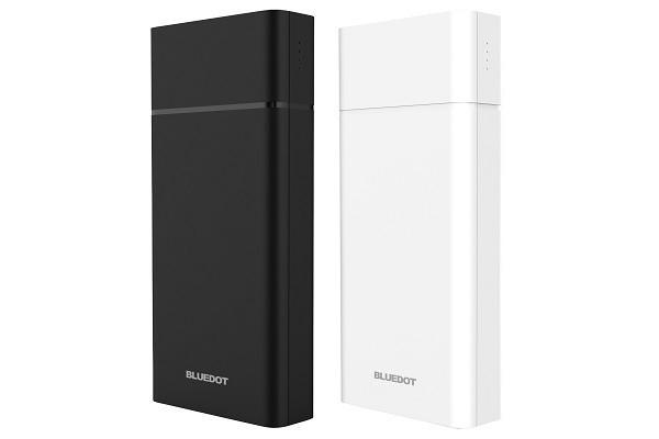 BLUEDOTから、「USB PD」&「QC」急速充電対応のモバイルバッテリー