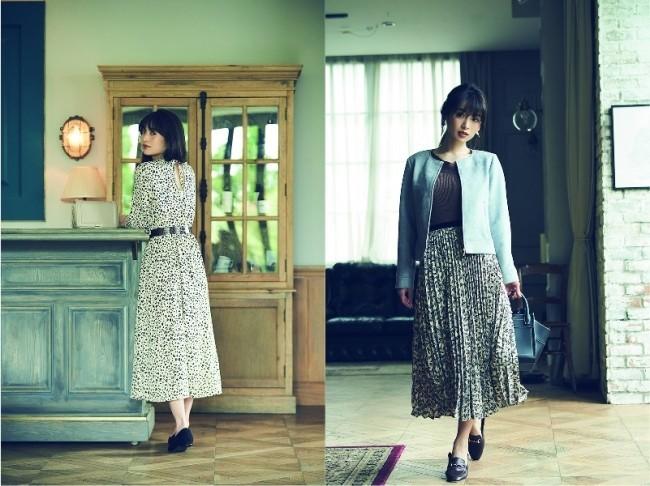 「ViS」から女優・モデル泉里香とのコラボアイテム