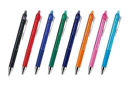 計8色の消せるボールペン