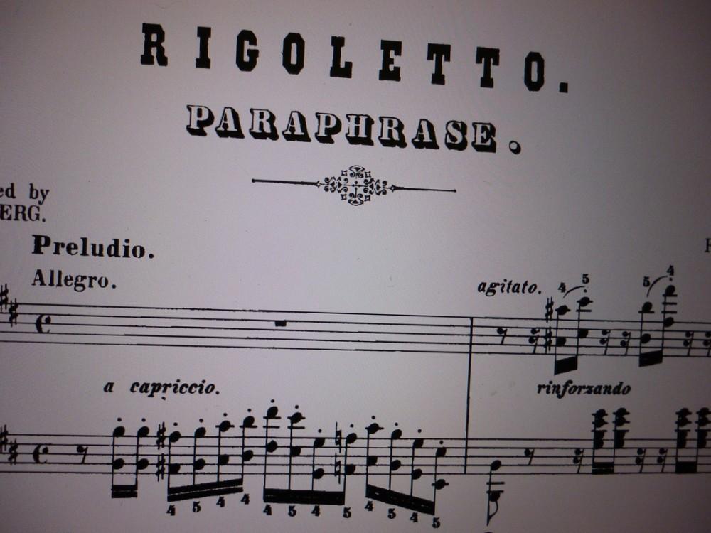 19世紀の人気オペラを華麗なピアノ曲に リスト「リゴレット・パラフレーズ」
