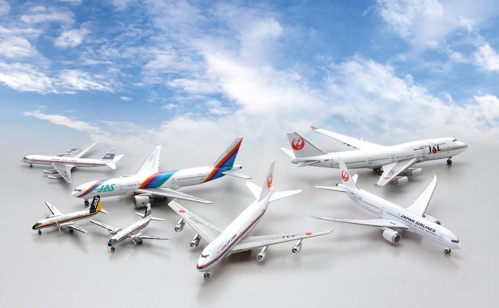 JALの歴代航空機ダイキャスト製モデル毎号付属