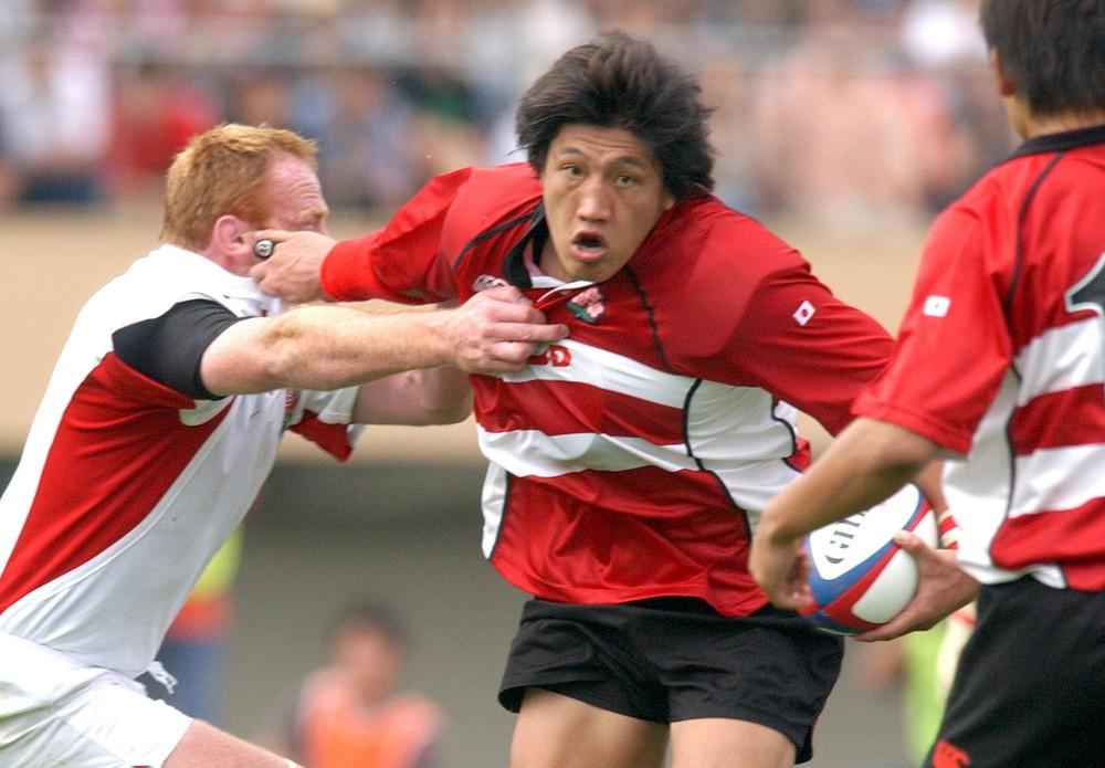 元ラグビー日本代表選手の齊藤祐也氏によるミートアップイベントも
