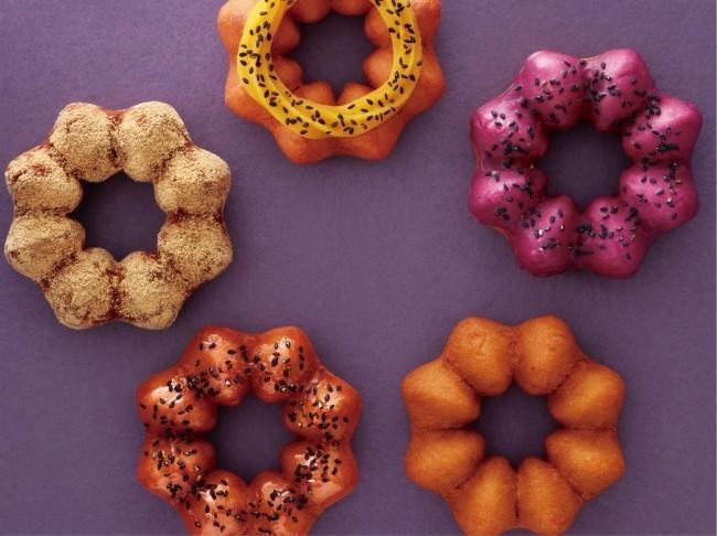 ほんのり甘く、しっとり食感のさつまいもドーナツ ミスタードーナツ