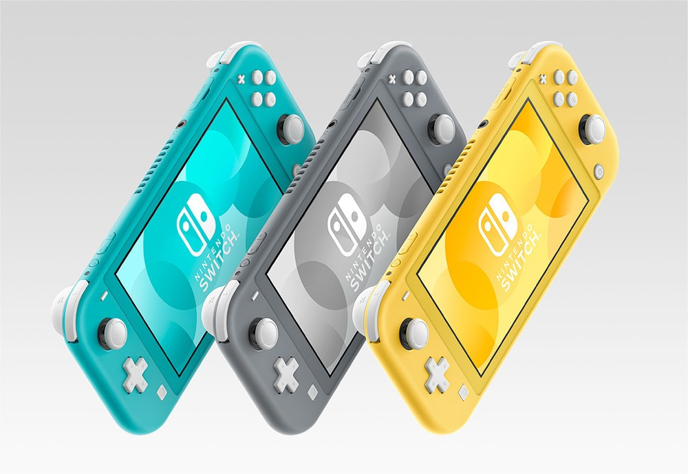 「Nintendo Switch」携帯専用のコンパクトモデル