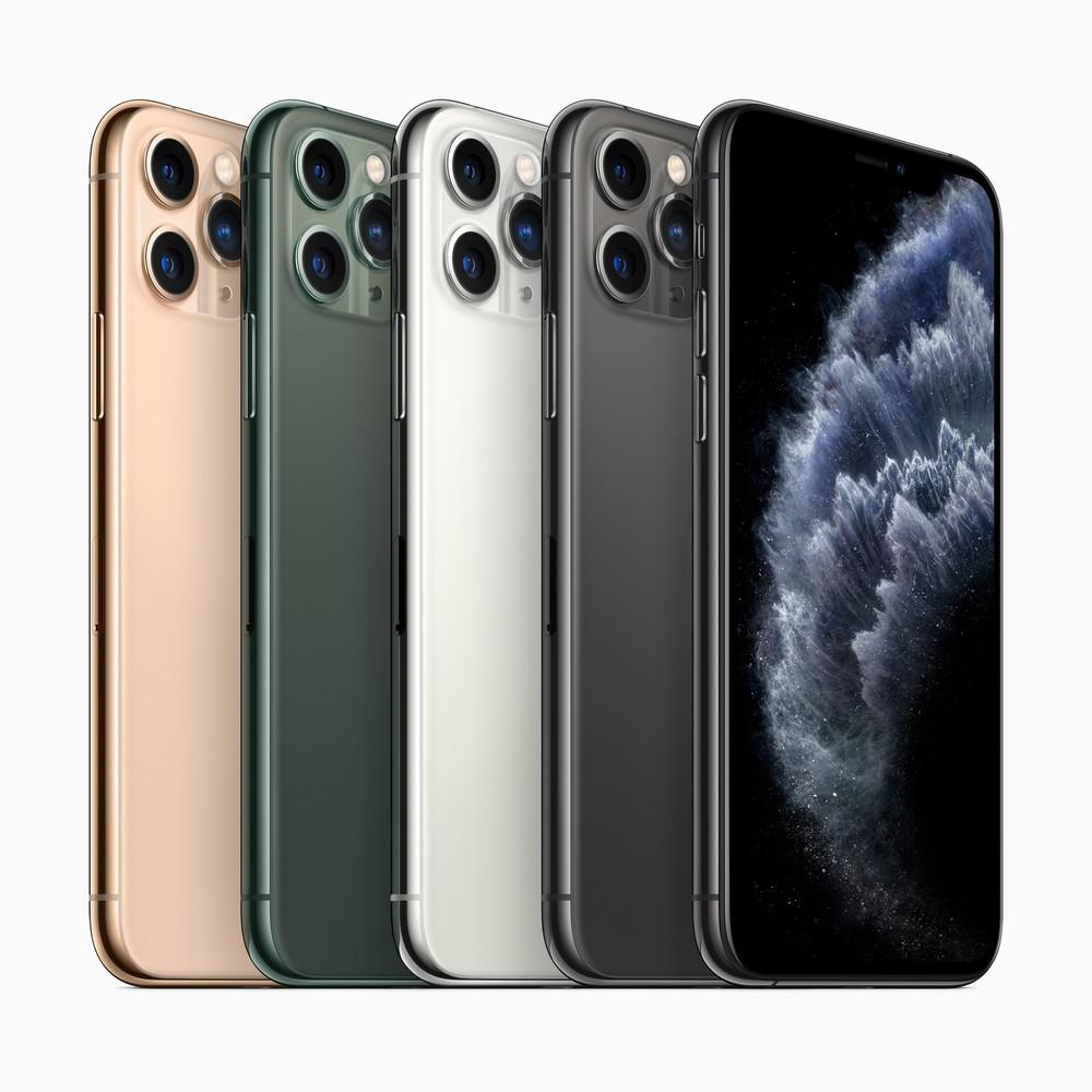 iPhone11シリーズ3種 トリプルカメラ搭載5.8型「iPhone 11 Pro」