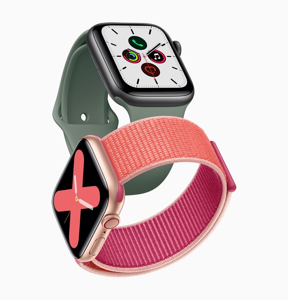 スリープせず常時表示「Apple Watch Series 5」 バッテリー駆動18時間