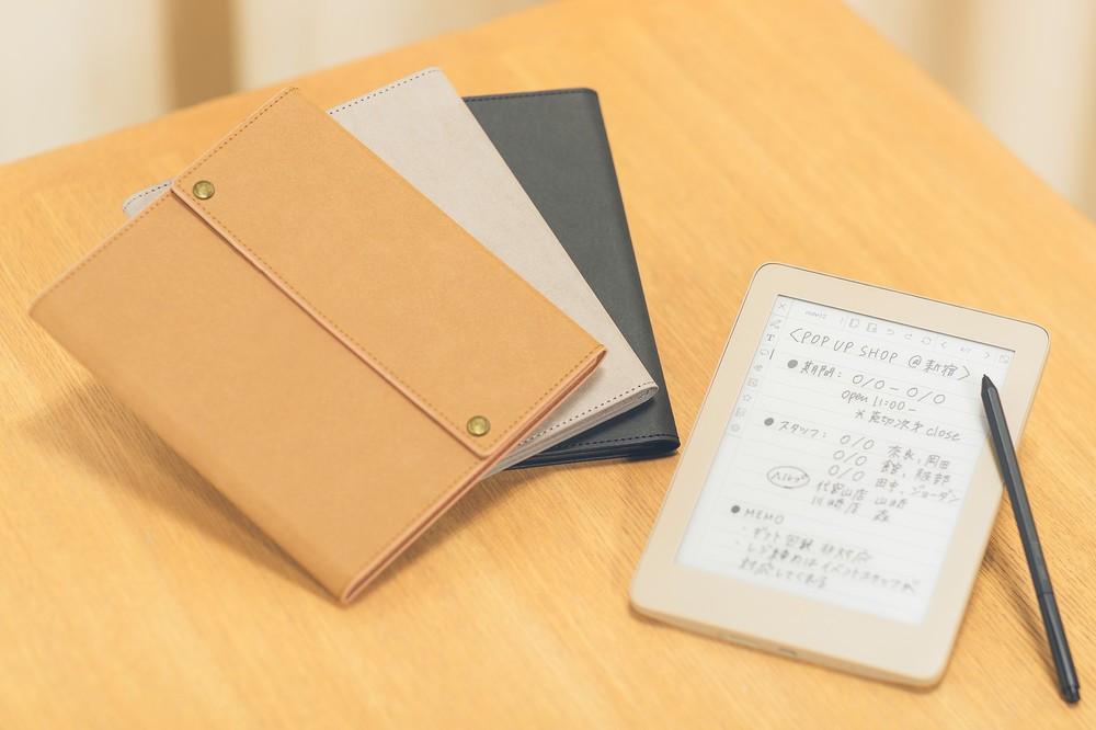 「ノート」「カレンダー」機能を備えたデジタルノート キングジム
