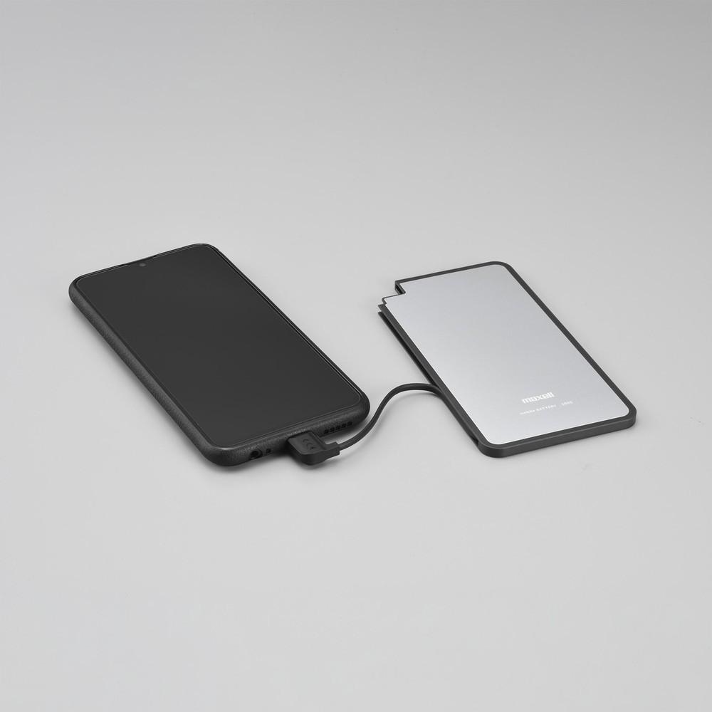マクセルから薄型&スティック型、モバイルバッテリー2モデル