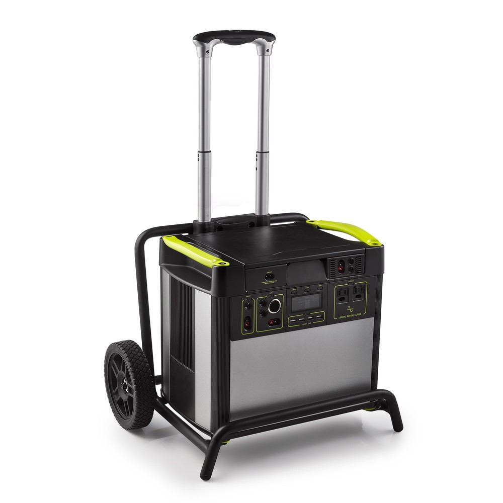 120V仕様の大容量バッテリー内蔵 ポータブル電源2モデル
