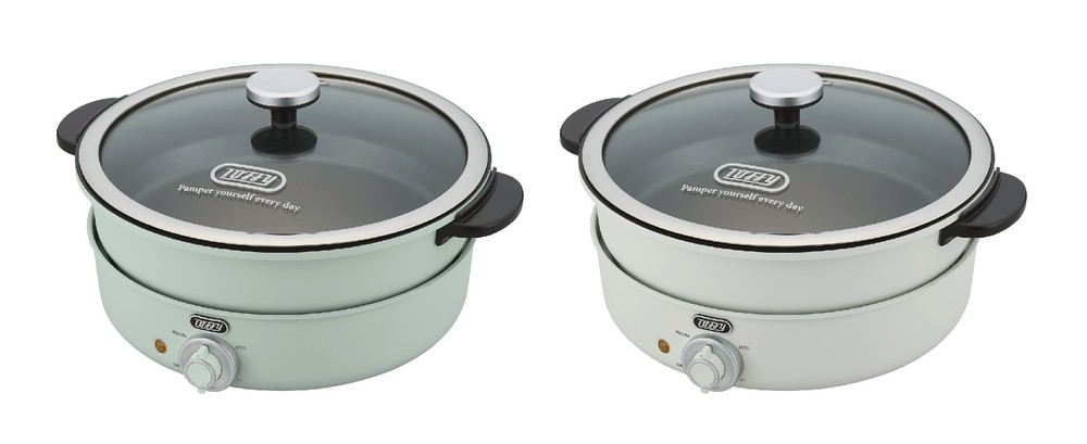 煮る・炊く・焼く・蒸すが1台で 電気グリル鍋
