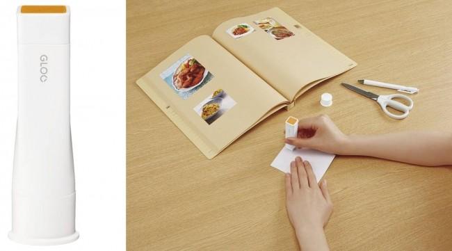 水分控えめ 薄い紙でもキレイに貼れるスティックのり