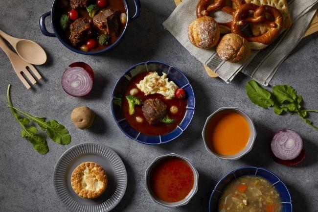 寒い冬に温かいメニューを イケア「スープ&シチューフェア」