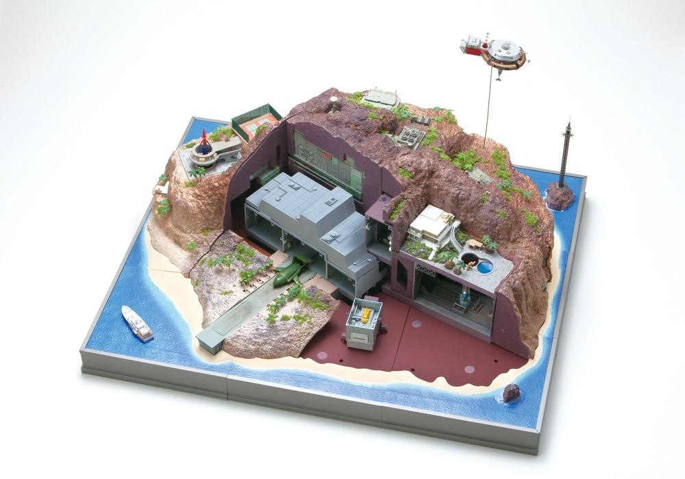 「サンダーバード」秘密基地が組み立てられるキット付きマガジン