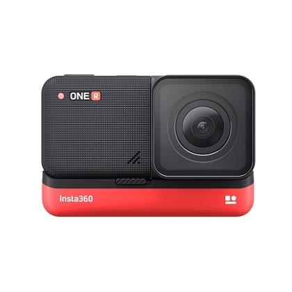 コア+レンズ+バッテリーのモジュール式アクションカメラ「Insta360 ONE R」
