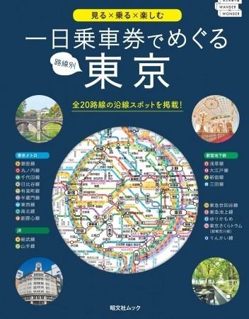 「一日乗車券」で東京の話題スポット巡り お散歩ガイドブック