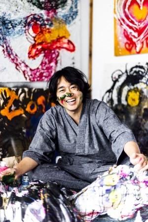 書道家・武田双雲が現代アート作家「Souun」に 「ピカソ、ごめん。」展