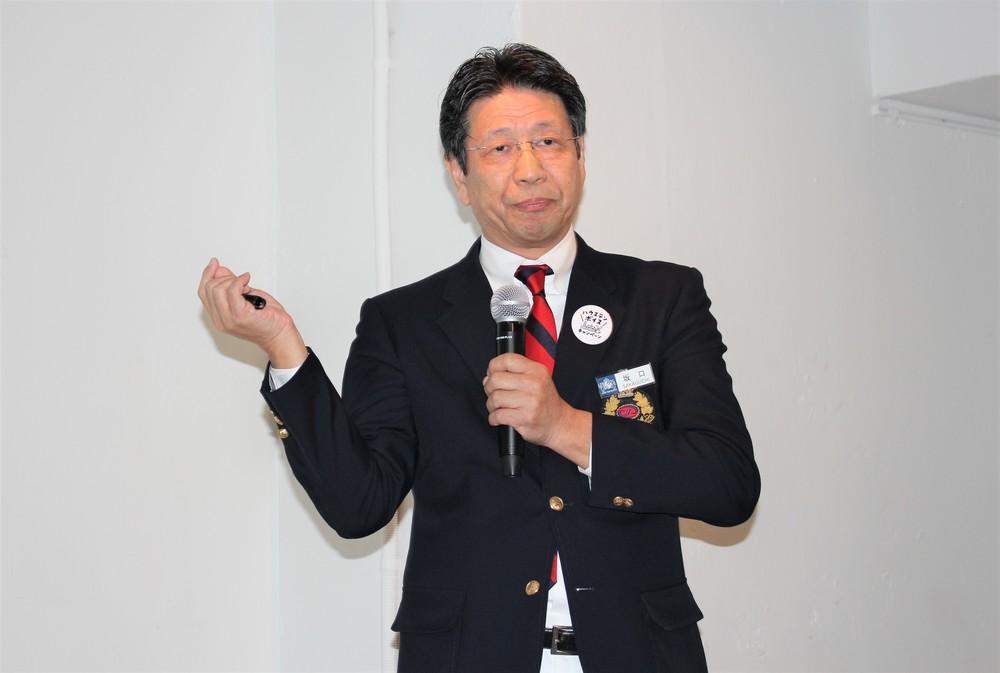 代表取締役社長の坂口克彦氏
