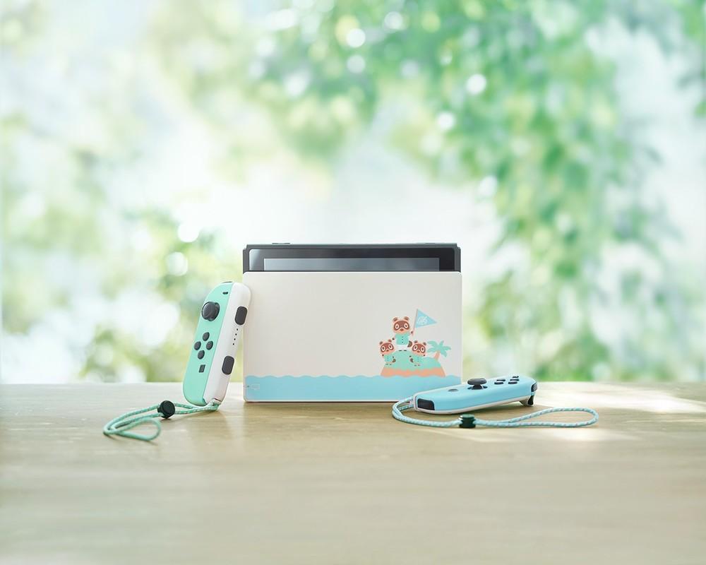 「あつまれどうぶつの森」デザインの「Nintendo Switch」 ソフトも収録