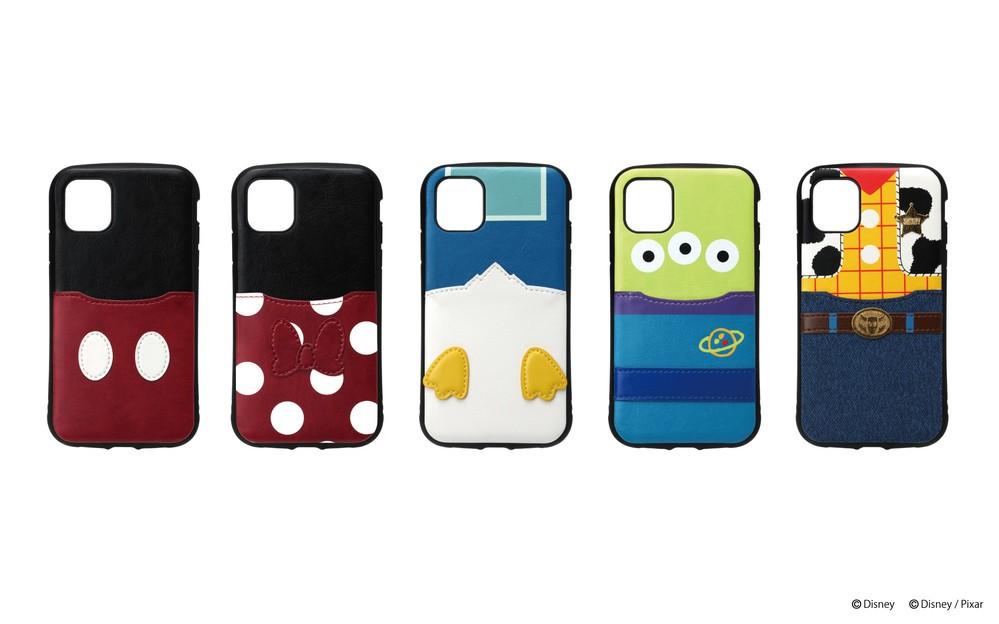 ディズニーキャラデザインのiPhone 11シリーズ向けケース