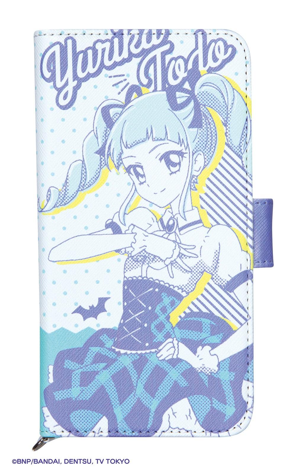 「アイカツ!」の「藤堂ユリカ」デザイン スマホグッズ全4種