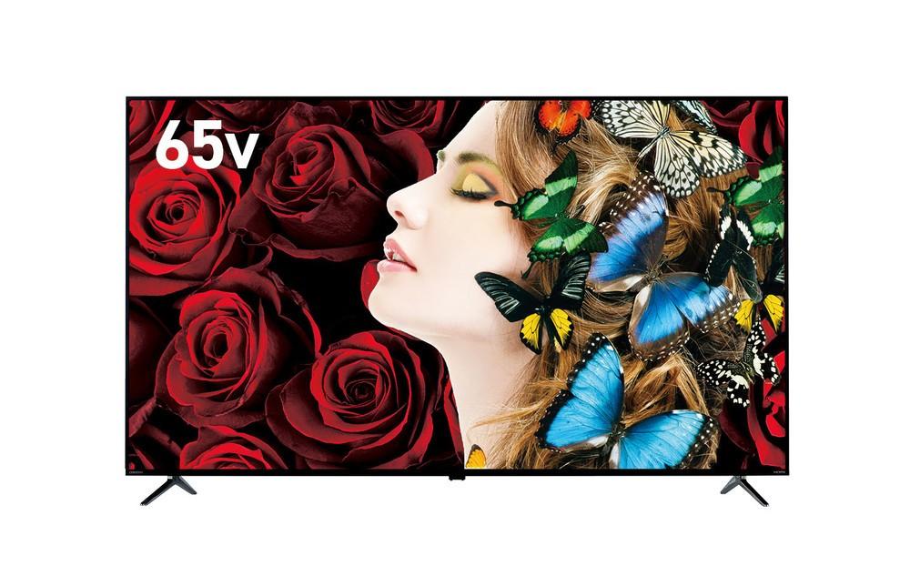 4K裏番組録画が可能 65V型4K液晶テレビ