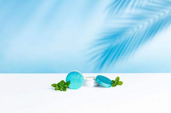 「スチームクリーム」夏のひんやりアイテム ハッカ油配合で肌に清涼感