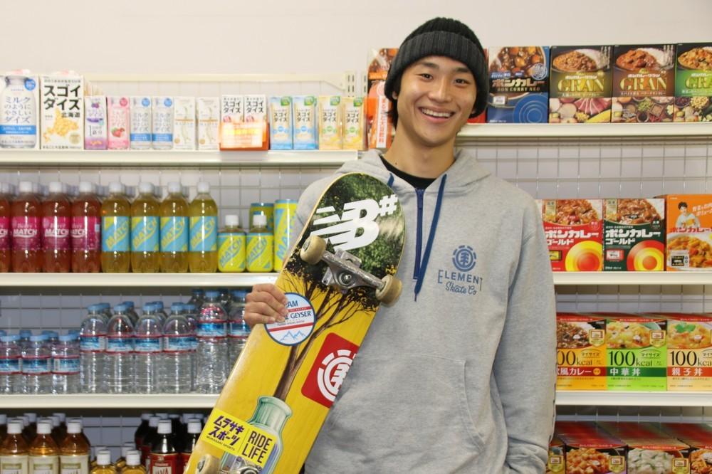 新競技スケートボードで輝け 佐川涼「すごいトリック」で魅了する【特集・目指せ!東京2020】