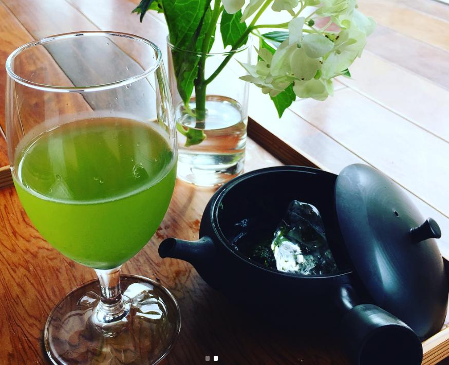 鹿児島県南九州市で多く生産される「知覧茶」