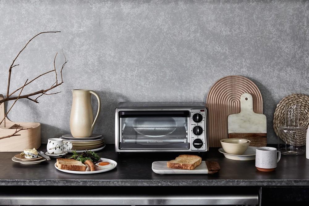 日常使いに必要な機能まとめたオーブントースター 英「ラッセルホブス」