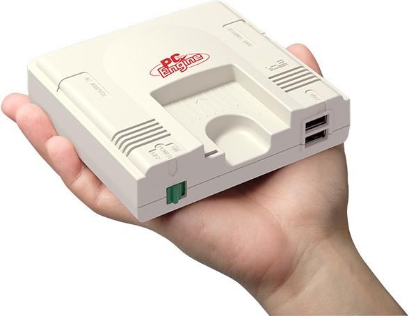 「PCエンジン」小型サイズで復刻「PCエンジンmini」 当時のゲーム多数収録