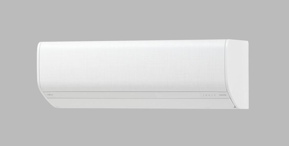 窓横の狭いスペースにも設置OK コンパクトなエアコン