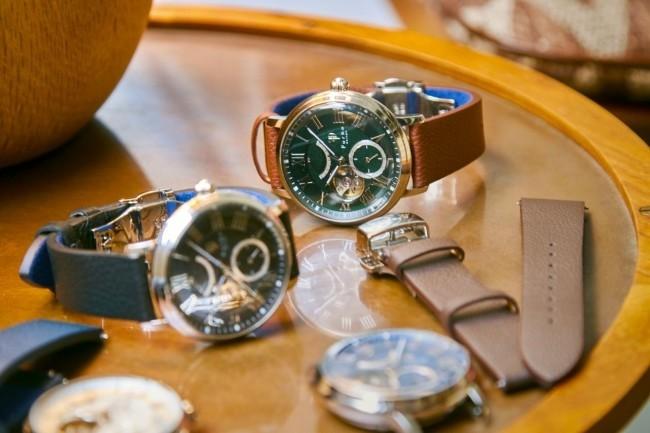 カスタムオーダーできる腕時計コレクション 「Furbo design」から