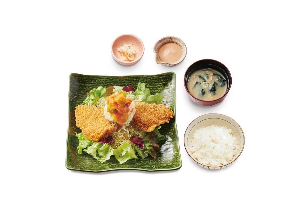 鹿児島県産寒ブリ味わえる 大戸屋の期間限定メニュー「サクッふわっぶりカツ定食」