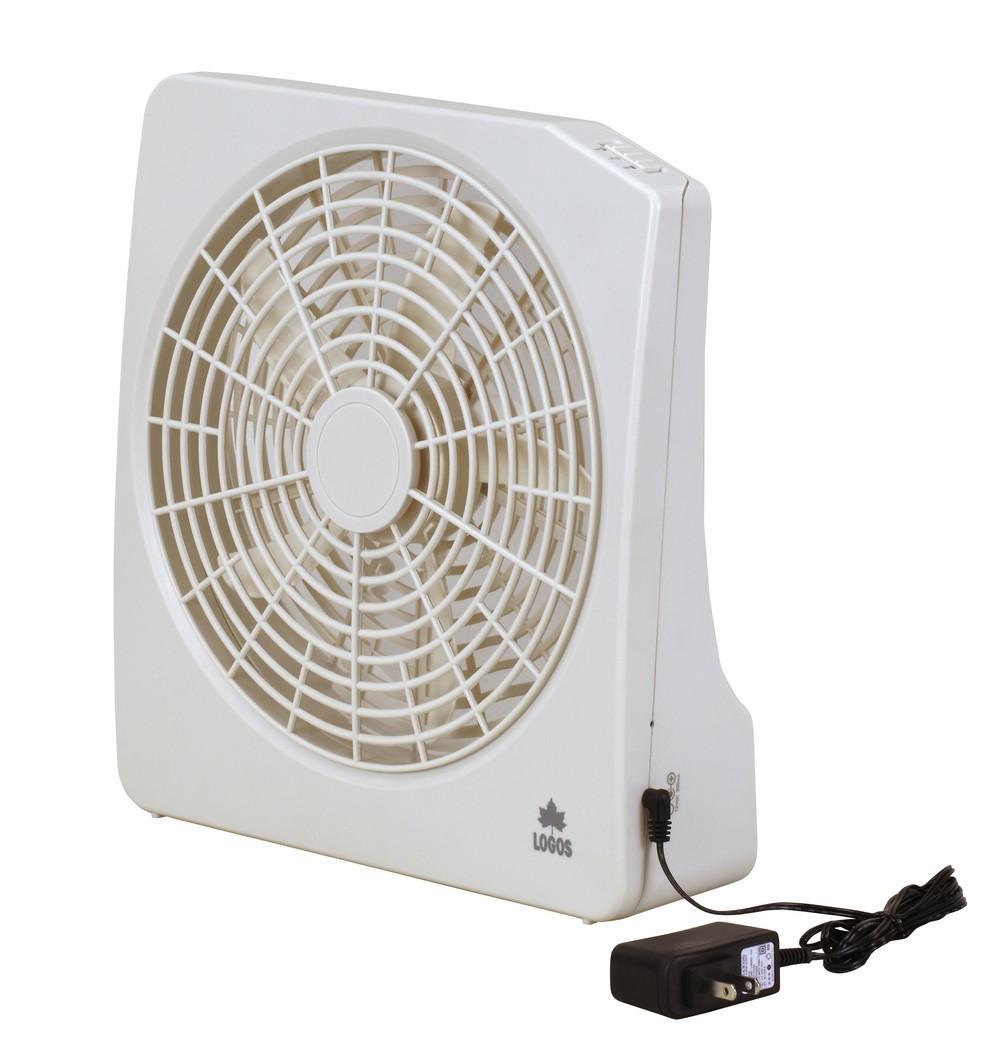 送風・換気どちらも可能な「2電源・どこでも扇風機(AC・電池)」