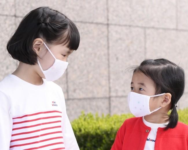 マスクの着用イメージ
