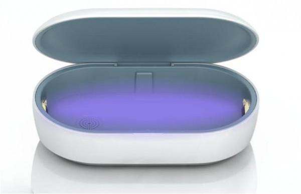 スマホやマスクを99.9%殺菌・消毒 「UV殺菌ボックス」