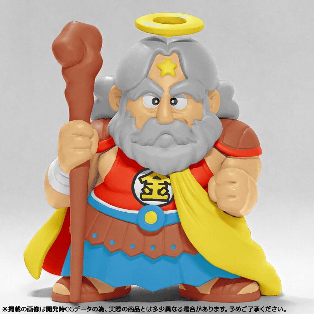 「ビックリマン」シリーズの象徴 「スーパーゼウス」のフィギュア