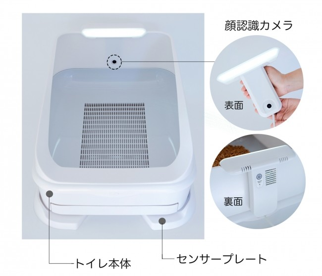 ネコをトイレでリモート健康管理 体のデータ計測、スマホで様子見られる