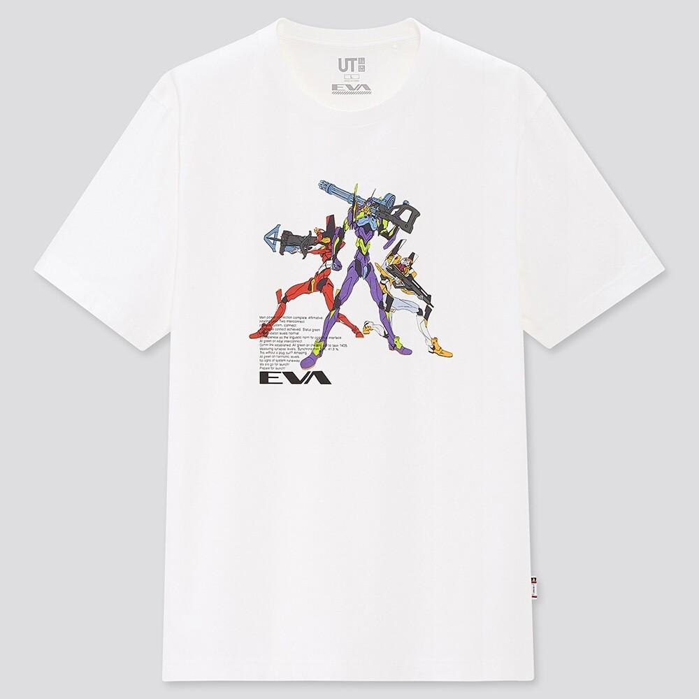 シン・エヴァンゲリオン×ユニクロ 描き下ろしや初出デザインのTシャツ
